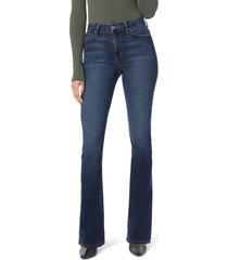women's joe's hi rise honey curvy bootcut jeans, size 26 - blue