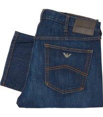 emporio armani denim j21 stretch cotton jeans 8n1j21