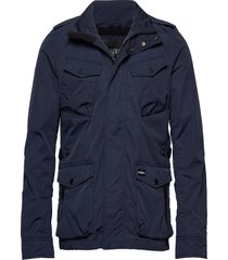 city edition field jacket gevoerd jack blauw superdry