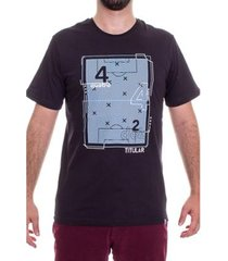 camiseta 4-4-2 esquema tatico masculina