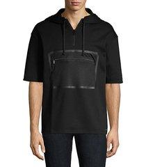 dolet short-sleeve cotton sweatshirt