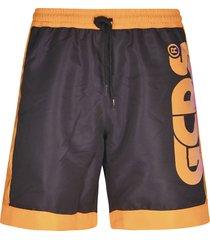 gcds logo print shorts
