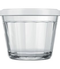 tigela americano nadir em vidro com tampa 150ml - item sortido unica