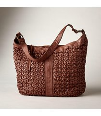 laurel woven hobo bag