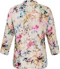 blouse van anna aura multicolour