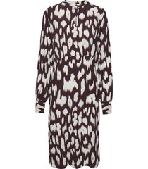 cristy dress animal print