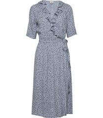 henny dress knälång klänning blå twist & tango