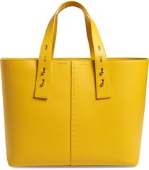 frame les second large tote - yellow