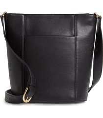 nordstrom loraine leather bucket bag -