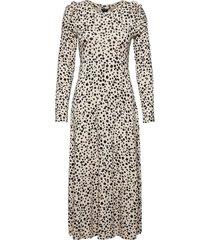 dress pia maxiklänning festklänning beige lindex