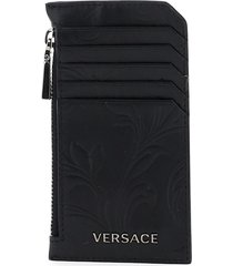 versace barocco card holder pouch