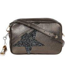 golden goose glittery star shoulder bag