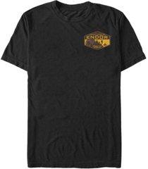 fifth sun star wars men's forest moon of endor short sleeve t-shirt
