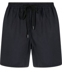 a kind of guise shell swim shorts - blue