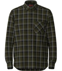 hugo men's ermann relaxed-fit plaid shirt