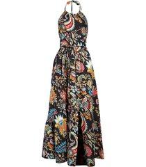 rachel comey sazerac halter maxi dress, size 2 in black at nordstrom