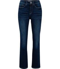 jeans elasticizzati in denim classico bootcut (blu) - john baner jeanswear