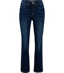 jeans elasticizzato in denim classico bootcut (blu) - john baner jeanswear