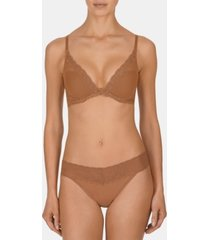 natori bliss perfection lace-waist thong underwear 750092