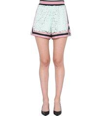 dolce & gabbana lace shorts