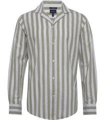 d2.co li stri reg riviera collar overhemd casual grijs gant