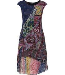 vest monica jurk knielengte multi/patroon desigual