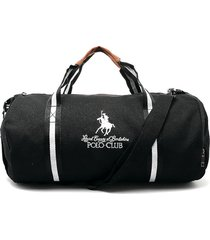 maletín negro-blanco-café royal county of berkshire polo club