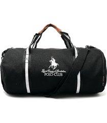 maletín negro-blanco-café royal county of berkshire polo club