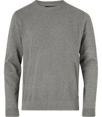 tröja structured crew knit