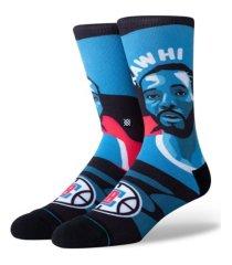 stance men's los angeles clippers kawhi leonard mosaic socks