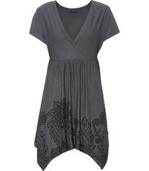 maglia con fondo a punte (grigio) - bodyflirt