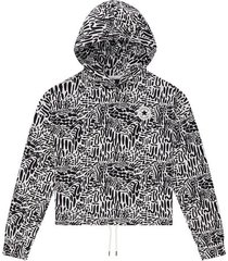 chuck taylor graphic print hoodie
