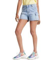 celebrity pink juniors' cargo shorts