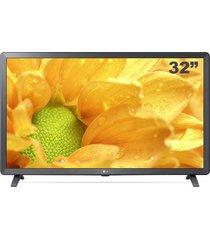 "smart tv lg 32"", hdr ativo led, lm625bpsb, thinq al - inteligêcial artifical, wi-fi"