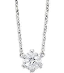 classic sterling silver pendant necklace
