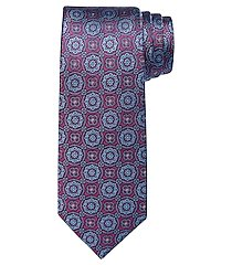 reserve collection round medallion tie - long