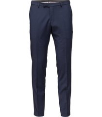 damien trousers kostuumbroek formele broek blauw oscar jacobson