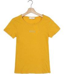 camiseta amarillo mng