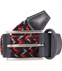 anderson's belts woven fabric belt - red/navy b0667 af3689 108