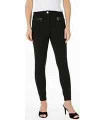 laundry by shelli segal ponte-knit skinny pants