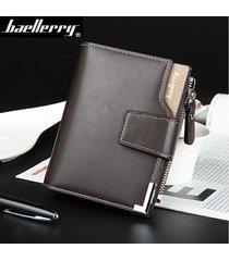mini billetera/ billetera para hombres, vertical,-