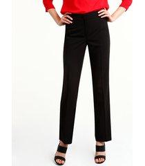 pantalón patprimo clásico bota recta negro