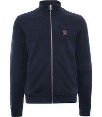 belstaff zip through sweatshirt | dark ink | 71130631-ink