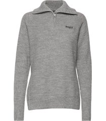 ulriken lady jumper sweat-shirt trui grijs bergans