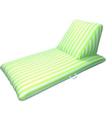 drift and escape lime green swimming pool chaise lounge - morgan dwyer signature