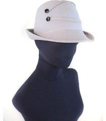 sombrero gris almacén de parís