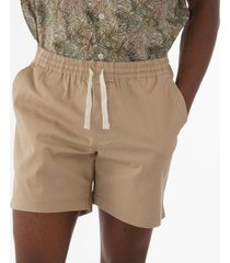 farah the val stretch twill shorts light sand f4hm8014-285