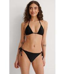 na-kd swimwear bikinitrosa med knytband - black