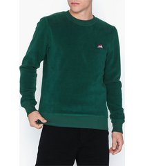 jack & jones jornorth sweat crew neck tröjor mörk grön