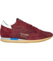 scarpe sneakers uomo camoscio tropez vintage